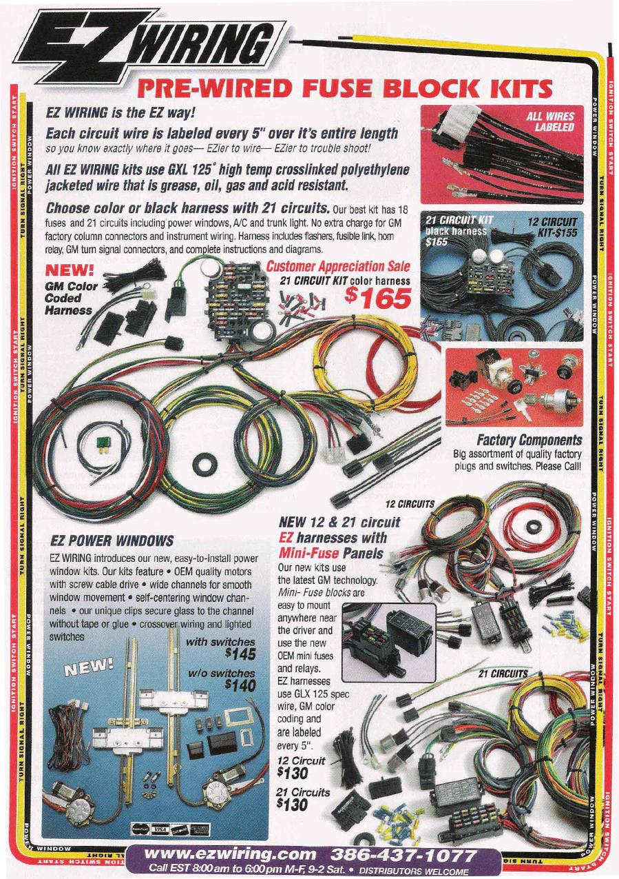 L R Engines Ez Wiring Power Window Instructions Testimonials